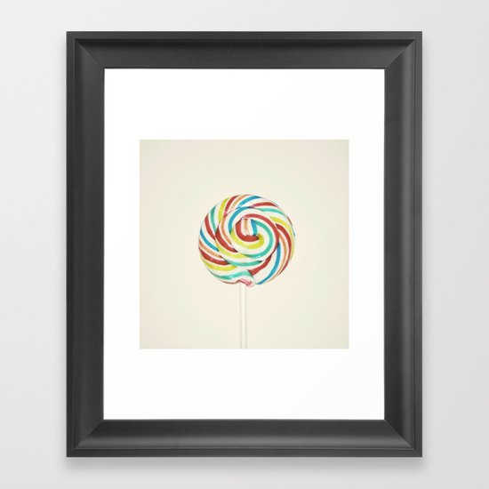 Sweet Rainbow Framed Art Print