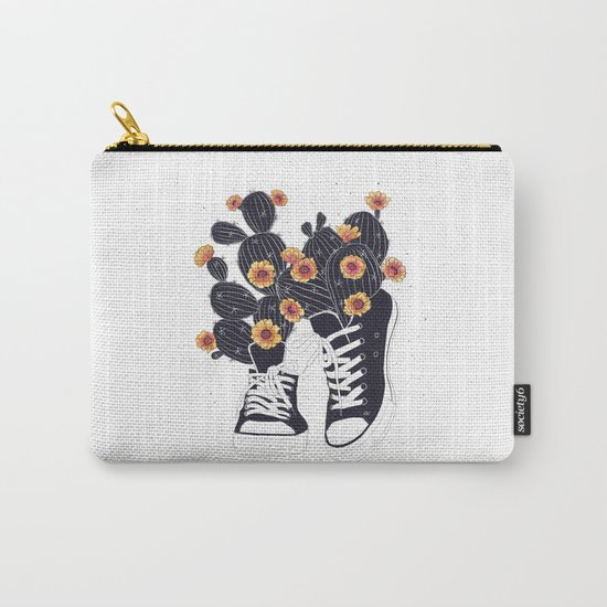 Sneakers with cactus Carry-All Pouch