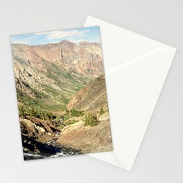 Lundy Canyon Mountains Stationery Cards