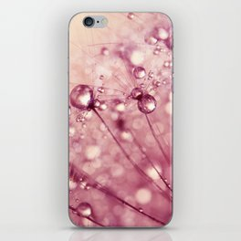 Pink Drops & Sparkles iPhone Skin