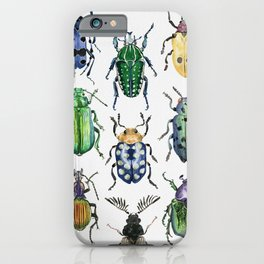 Colourful Bugs iPhone Case