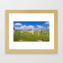 Silence of clonmacnoise Framed Art Print