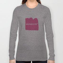 mindenkihülye™ pink Long Sleeve T-shirt