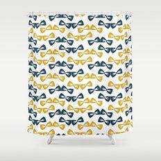 Zany Du Bow Tie Pattern Shower Curtain