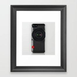 Camera Framed Art Print