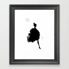 Giulia Framed Art Print