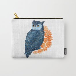 Blossoming owl Carry-All Pouch