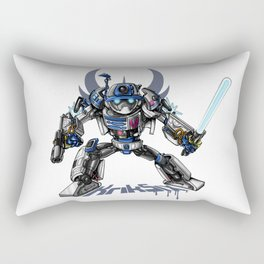 R2-D2 Transformed Rectangular Pillow