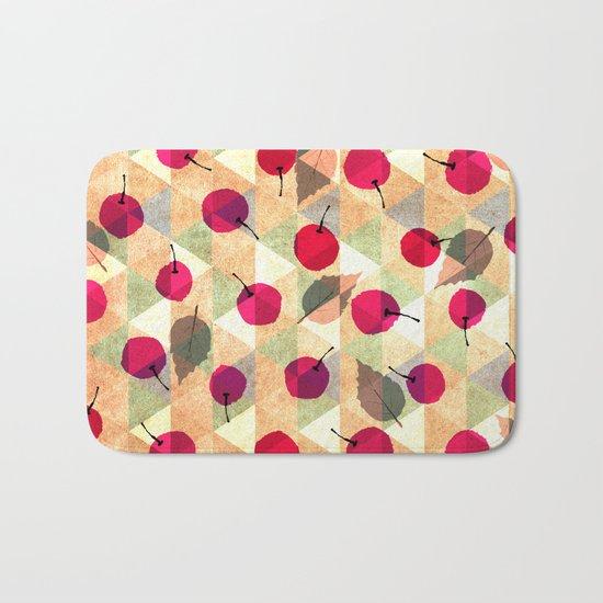 Sweet Cherries Bath Mat