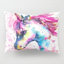 Pink Unicorn Pillow Sham