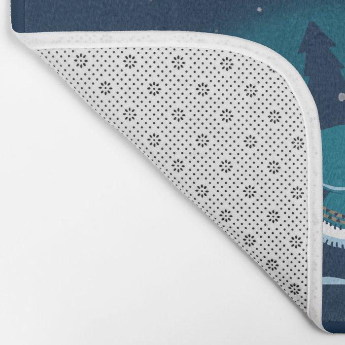 Grand Theft Arctic Bath Mat