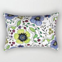 April Truly Rectangular Pillow