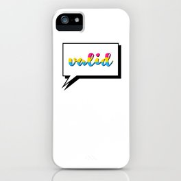 Pan People are Valid iPhone Case
