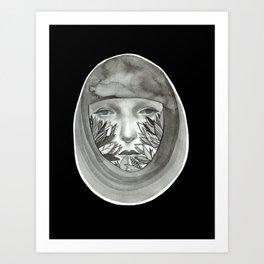 Woman (Free yourself) Art Print