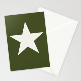 Vintage U.S. Military Star Stationery Cards
