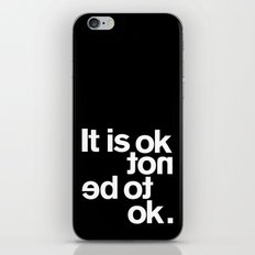 IT IS OK iPhone Skin