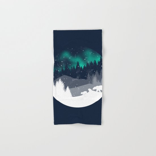 Stardust Horizon Hand & Bath Towel
