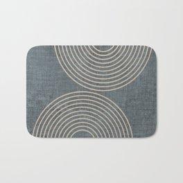 Grunge Texture Minimalist Bath Mat
