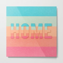 word home horizon Metal Print