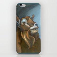 Cheeky Toggenburg! iPhone Skin