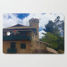 Mount Monserrate at Christmastime Maybe, Bogota, Colombia Cutting Board