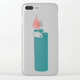 More Fire Clear iPhone Case
