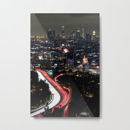 Hollywood Bowl Overlook Metal Print