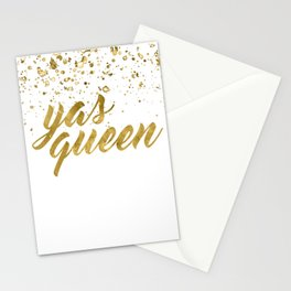 Yas Queen Stationery Cards
