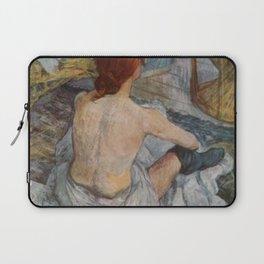 Henri De Toulouse Lautrec Rousse Laptop Sleeve