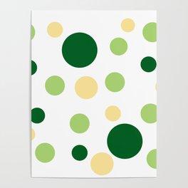 Green Pop Poster
