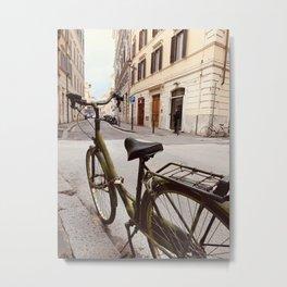 Le Bicycle Metal Print