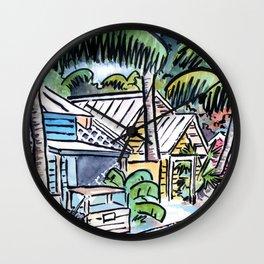 Cayo Hueso Wall Clock