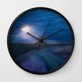 A new beginning IV Wall Clock