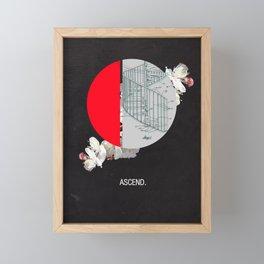 Ascend. Framed Mini Art Print
