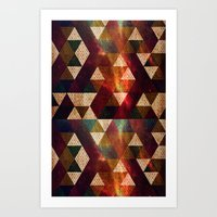 polygon Art Prints featuring Polygon by Tony Vazquez