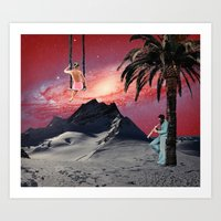 chill Art Prints featuring Chill by Nope