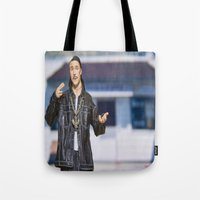 napoleon Tote Bags featuring Napoleon Dynamite by TJAguilar Photos