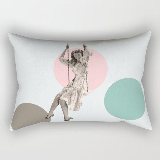 cloudy day Rectangular Pillow