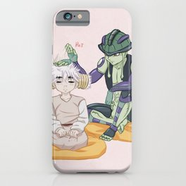 Meruem and Komugi iPhone Case