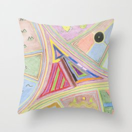 Alchemy 3 Throw Pillow