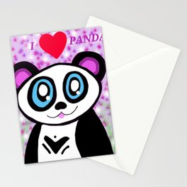 I love pandas by Katy christoff Stationery Cards