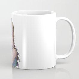 Girl with the Dragon Spikes Coffee Mug