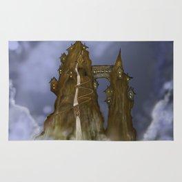 Mountain Castle  Rug
