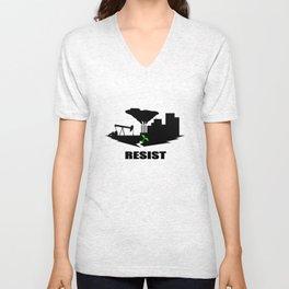 Resist #2 Unisex V-Neck