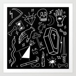 Dark Magic Art Print
