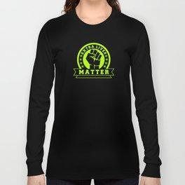 Video Game Extra Lives Matter Long Sleeve T-shirt