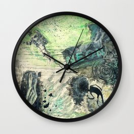 LOVE ALWAYS REMAINS Wall Clock