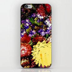 Glass Flowers iPhone & iPod Skin