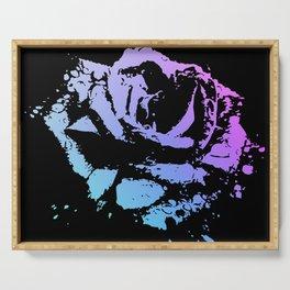 Splattered Rose Serving Tray