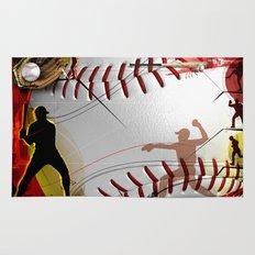 Baseball Rug